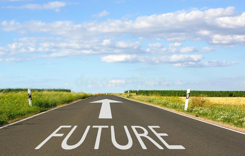 Estrada para o futuro!