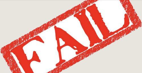 A força do fracasso
