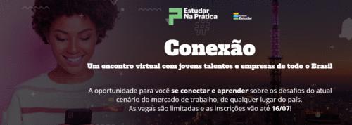 Conexão - Encontro virtual entre jovens e empresas (Gratuito)